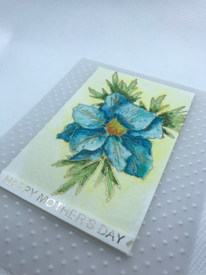 handcrafted greeting cards hand painted one of a kind