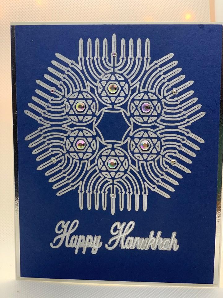 Handmade Hanukkah Holiday Cards