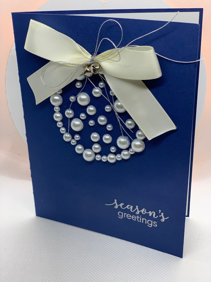 Handcrafted unique high end Christmas greeting cards