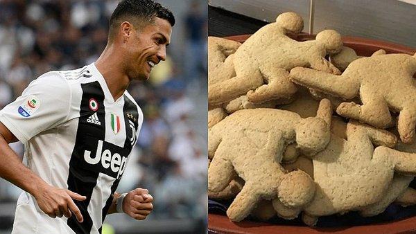 Our Taste of Portugal hizo las galletas Ronaldo en alusión a la violación