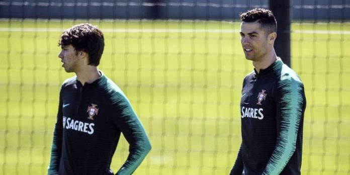 Puso a Joao Félix de 'ejemplo': para Cristiano Ronaldo