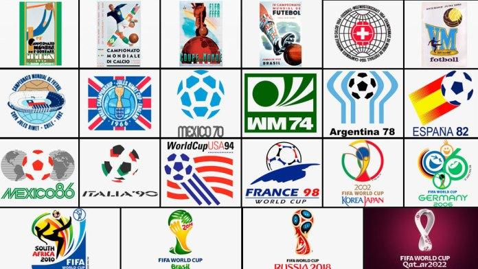 Recordemos los logos de los otros mundiales FIFA