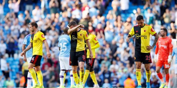 Watford fue goleado 8-0 y se viralizó el mapa de calor de su delantero