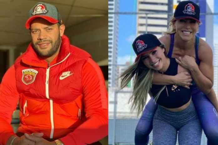 Escándalo amoroso en Brasil: Hulk inició un noviazgo con la sobrina de la madre de sus hijos