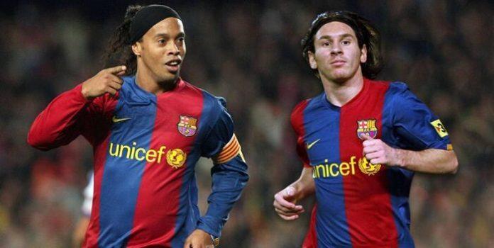 Ronaldinho: Messi no es el mejor de la historia