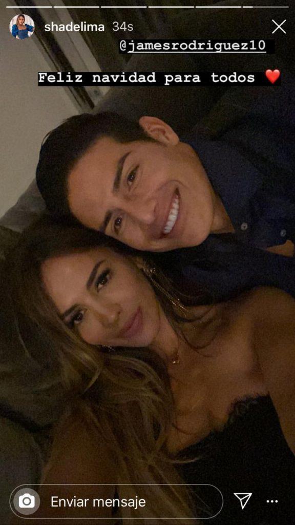 Shannon de Lima desmiente separación con James con romántica foto navideña