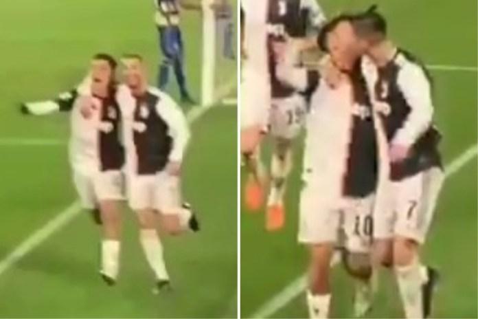 Cristiano y Dybala se suman a la lista de los besos más recordados en el mundo del fútbol