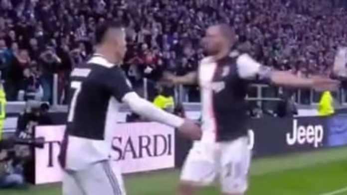 Cristiano Ronaldo inicia el año encendido con un hat trick ante el Cagliari