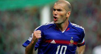 Zinedine Zidane, del del Blackburn Rovers.
