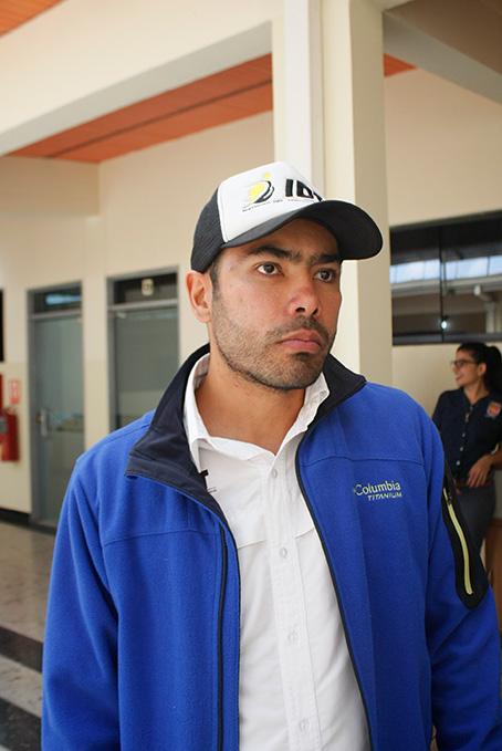Ismael Carreño, presidente del Instituto del Deporte