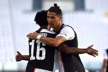 El irrespetuoso gesto de Cristiano Ronaldo a su DT en la victoria de Juventus