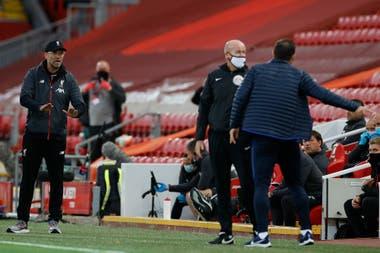 Lampard y Klopp se fueron a los gritos e insultos: