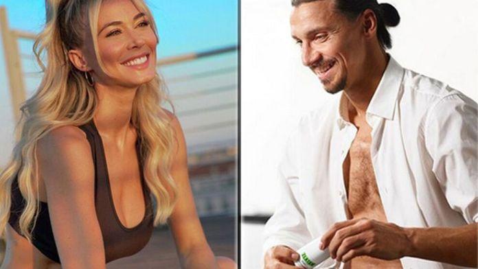 Ibrahimovic y Diletta Leotta apuntan a gran romance del fútbol en 2020