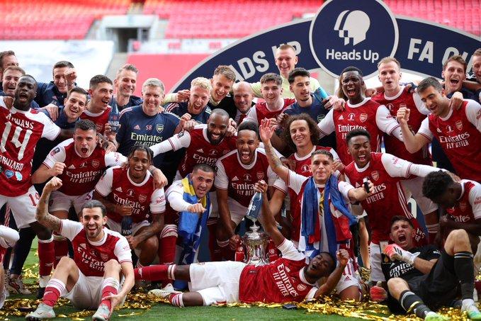 Arsenal gana la FA Cup, Aubameyang con doblete histórico