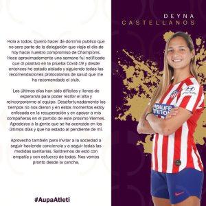 Coapture deInstagram de Deyna Castellanos
