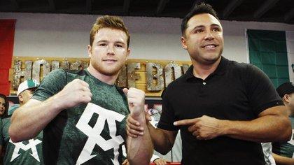 Más de 80 boxeadores afectados por demanda de Canelo a De la Hoya