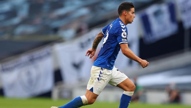 Revelan que James Rodríguez fichó gratis con el Everton