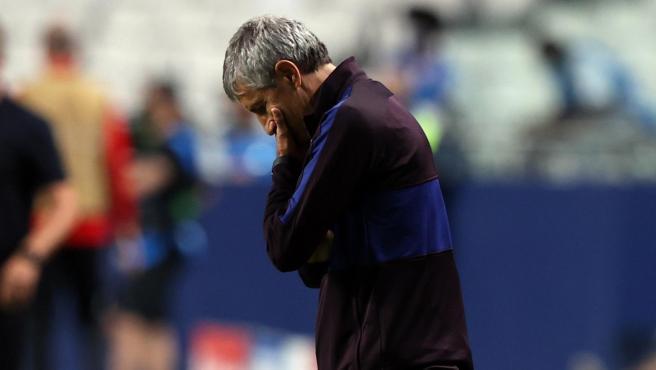 Setién le declara la guerra al Barça y anuncia acciones legales por su finiquito