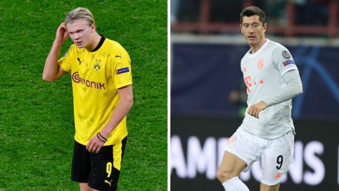 Afirman que Lewandowski se interpuso entre Haaland y el Bayern