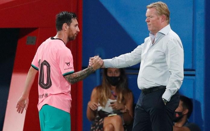 Ronald Koeman rompe el silencio tras polémico video de Lionel Messi