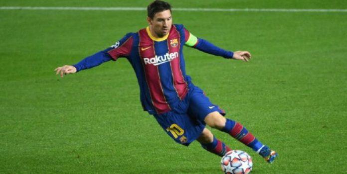 Messi iguala el récord de goles de Pelé en un club