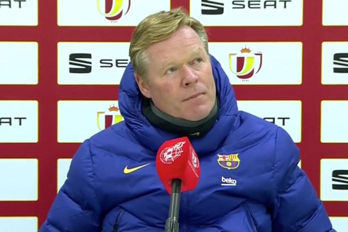 Koeman: «No se puede fallar dos penaltis siendo del Barça porque no es serio»