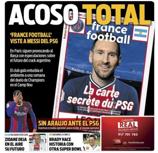 Se calienta la cosa: Sport le responde a portada de France Football