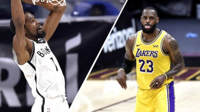 Definidos los quintetos titulares para el juego de las estrellas de la NBA 2021