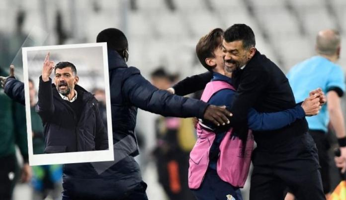 ¡Insólito! Eliminó a la Juventus y nadie le hizo preguntas en la conferencia de prensa al DT del Oporto