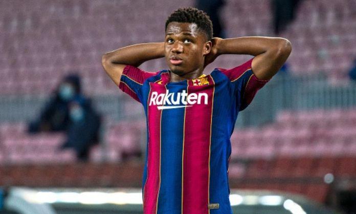 Hay preocupación dentro del Barcelona por la lesión de Ansu Fati