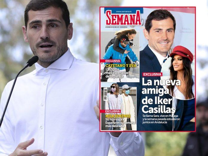 Causó polémica en redes: Iker Casillas fue pillado con su «nueva amiga» en Sevilla