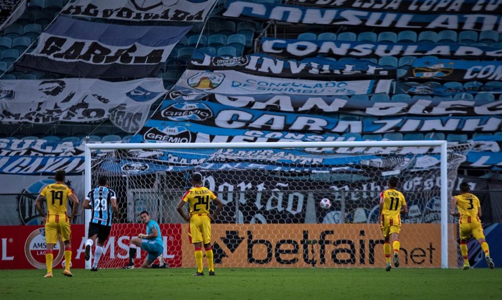 Gremio masacró 8-0 a Aragua en la Copa Sudamericana