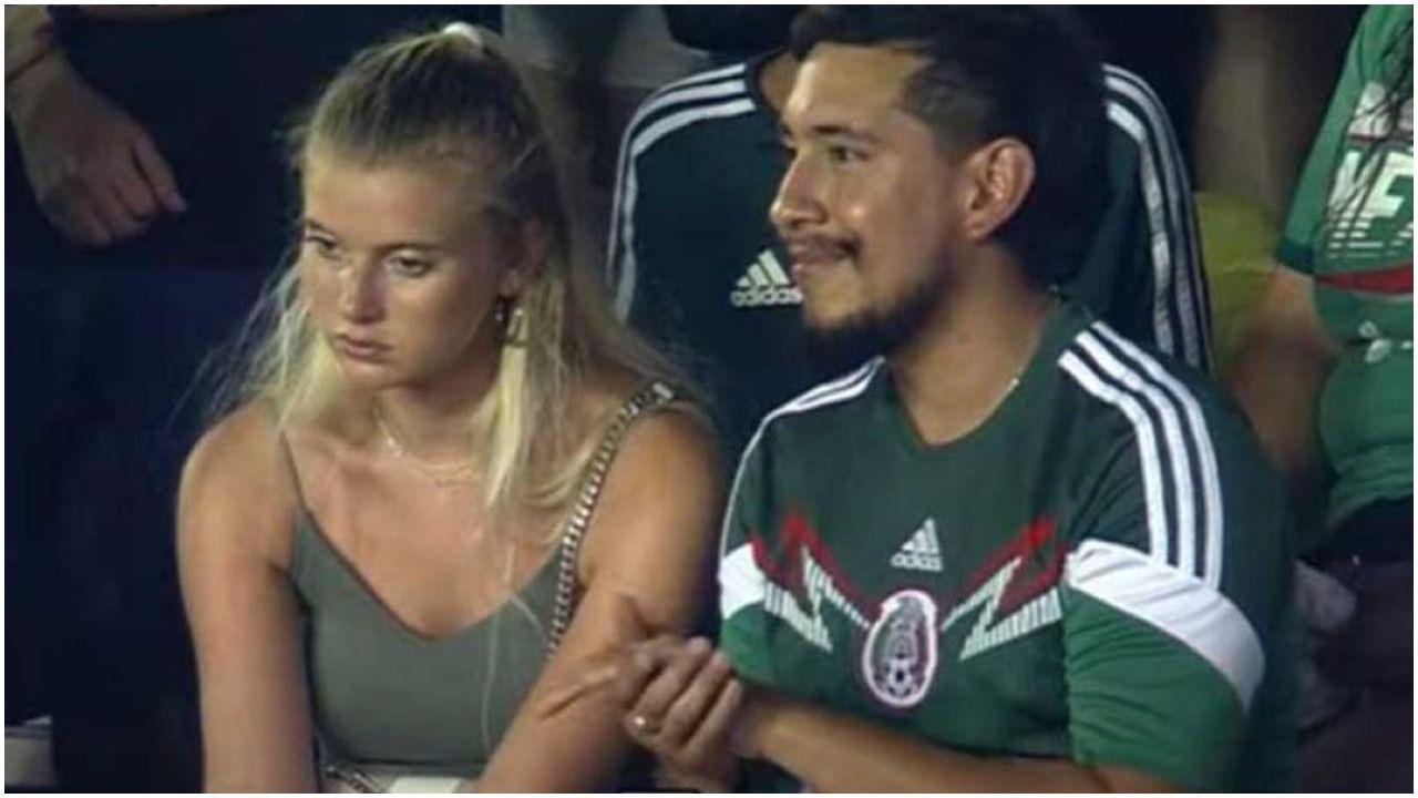 Así es la humilde casa del 'Toluco' y de Shae, la pareja que se hizo viral en la Copa de Oro