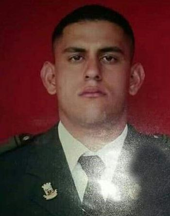 Carlos Alberto Rincón Medina, exguardia nacional, asesinado con arma de fuego en la plaza Bolívar de Coloncito