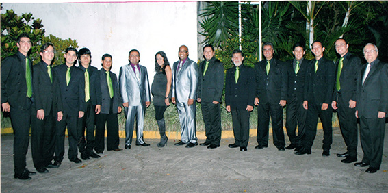 La Gran Banda de Venezuela de Atilio González.