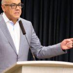 """Jorge Rodríguez: """"Robo de activos"""" vinculado a Guaidó asciende a USD 116 mil millones"""