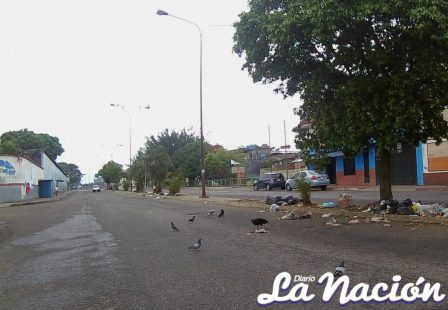 Con poco transito se mantienen principales vías de la ciudad. (Johnny Parra)