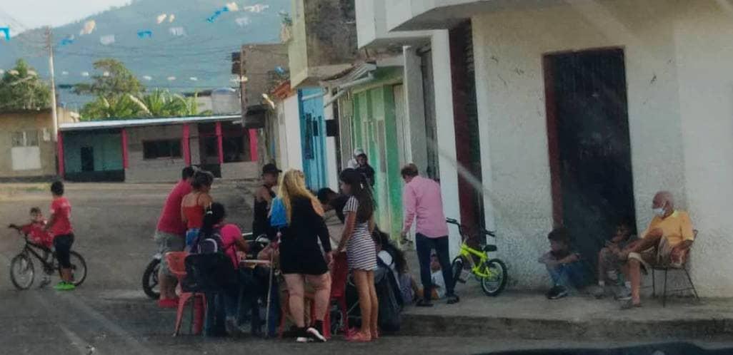 Así se vive el distanciamiento social en Colón