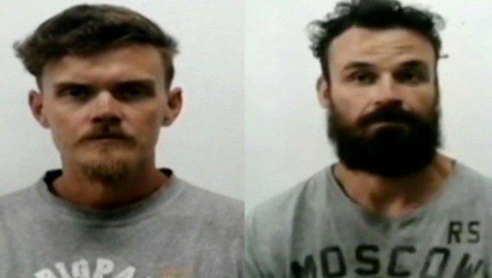 Luke Denmnan y Airan Berry, exmilitares estadounidenses involucrados en la