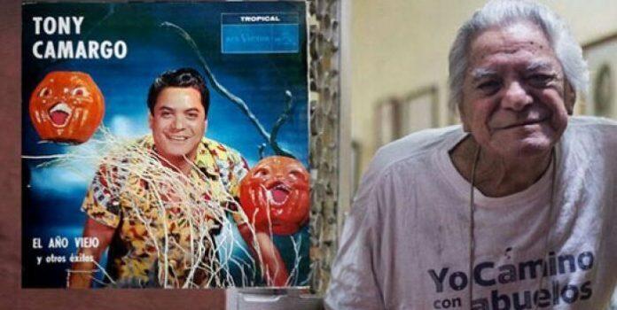 Falleció el mexicano Tony Camargo, cantante de 'El año viejo'