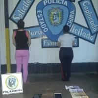 Detenidas en el Registro Municipal dos funcionarias cobrando en pesos