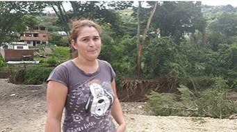 Kelly Segarra: «La crecida también arrasó con mis animales, y muchos productores perdieron sus cosechas» (Foto: Bleima Márquez)