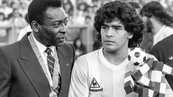 Pelé se deshace en elogios hacia Maradona: