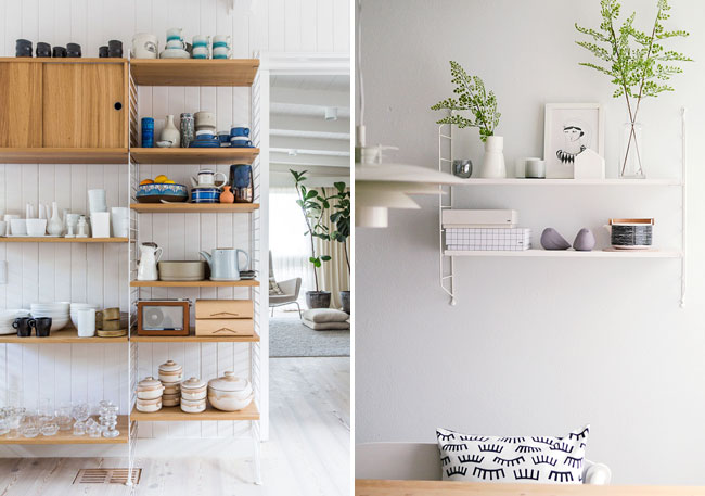 String shelving