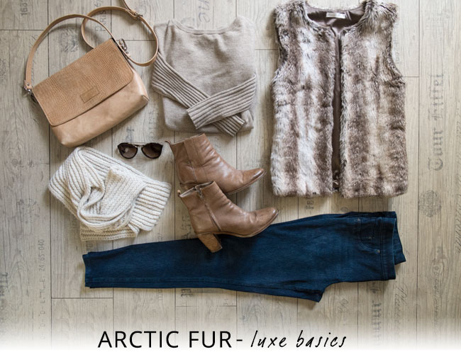 Arctic fur: get the look