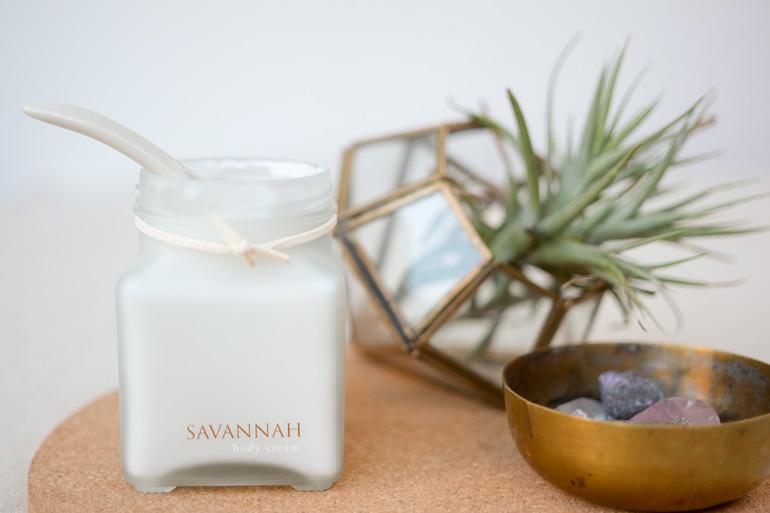 Savannah body cream