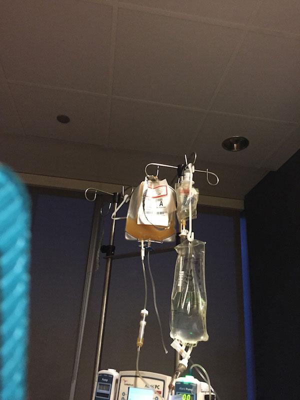 platelets bag