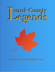 Book cover for Lanark County Legends