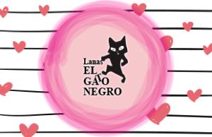 san valentin lanas gato negro