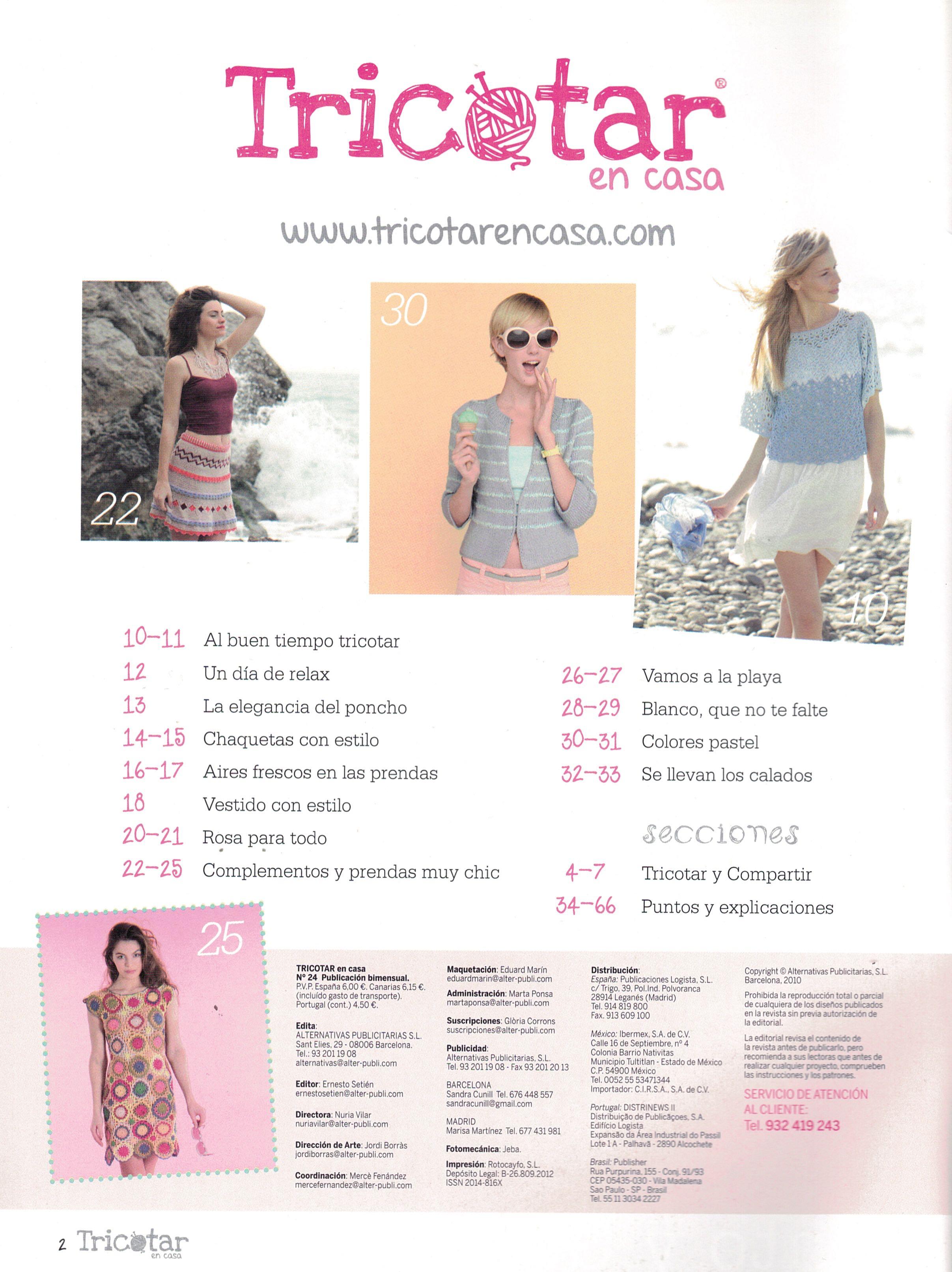 24 indice tricotar